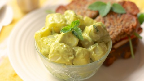 Avocado and Yogurt Potato Salad