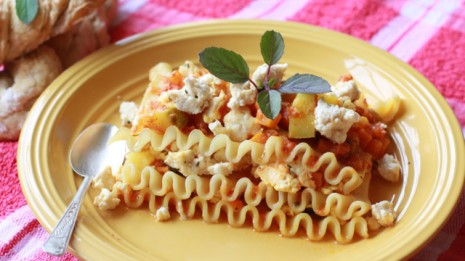 Sattvic Vegetable Lasagna