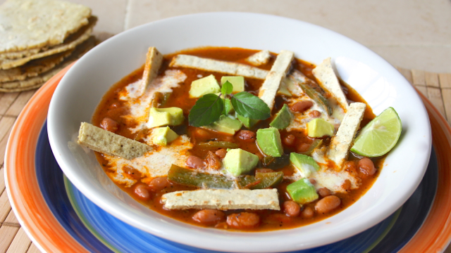 Tortilla Chipotle Bean Soup