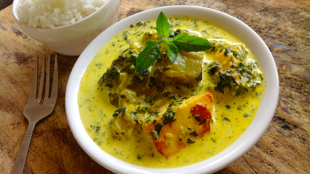 Saag Paneer with Pumpkin