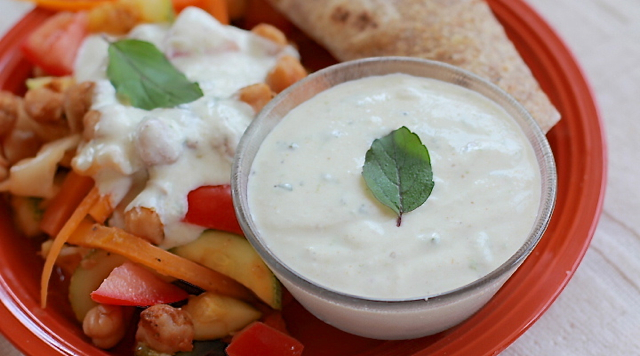 Zesty Yogurt Dipping Sauce
