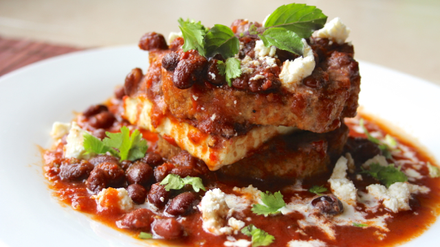 Soaked Chipotle Bean and Paneer Sandwich