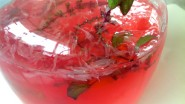 Magical Pink Tulsi Infused Lemonade